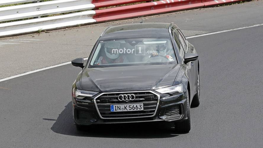 2019 Audi S6 Avant spy photos