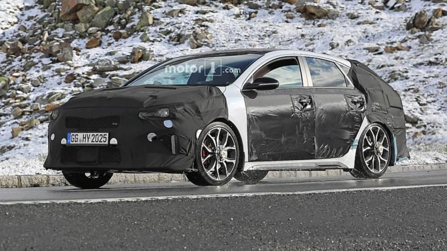 Photos espion - La Kia Proceed GT débusquée