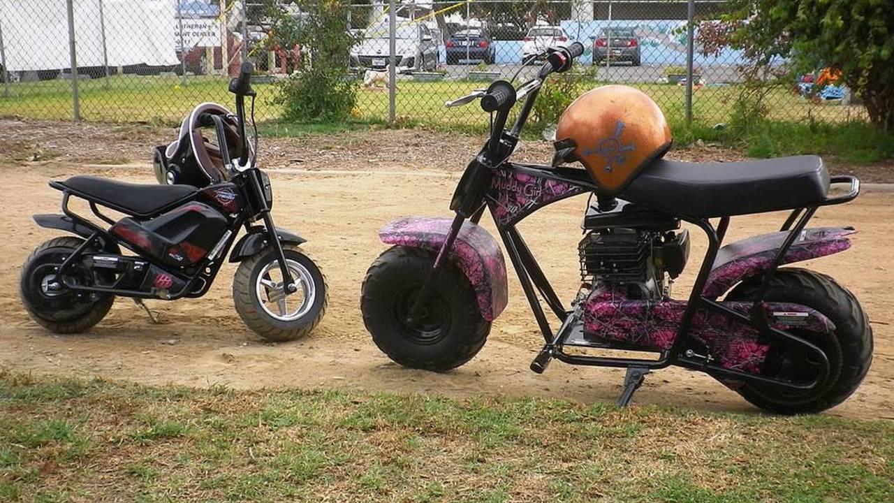 Monster Moto Classic Mini Bike Ride Review