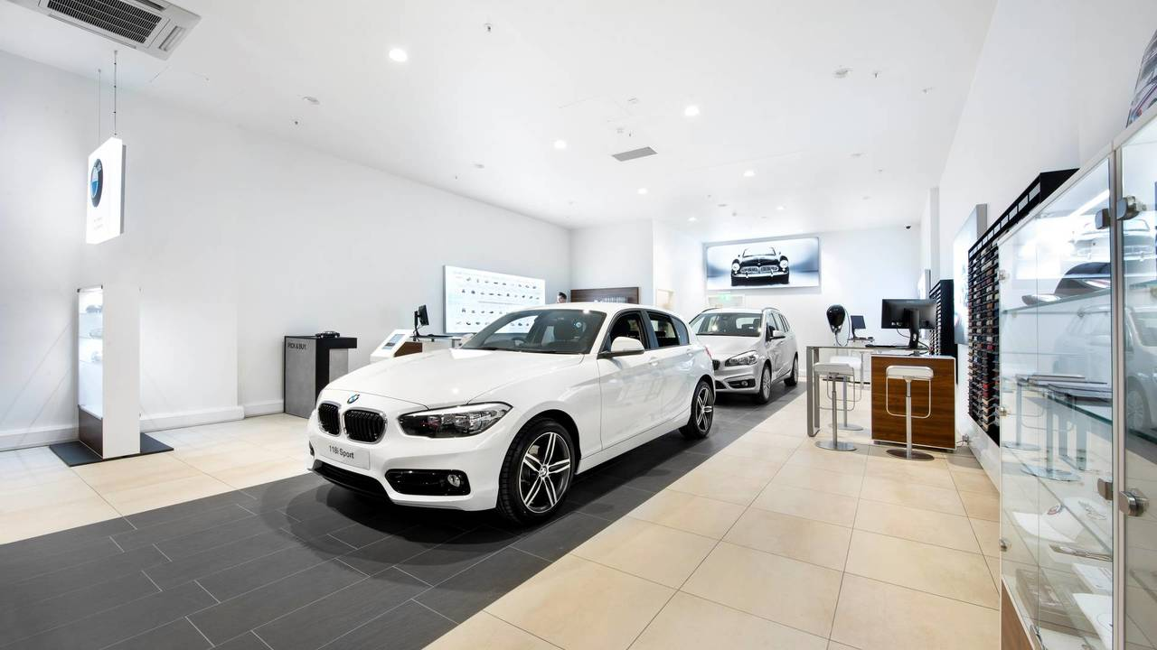 BMW Urban Store at the Bluewater