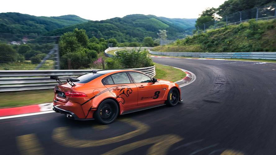 Jaguar XE SV Project 8 - Derniers réglages avant la production !