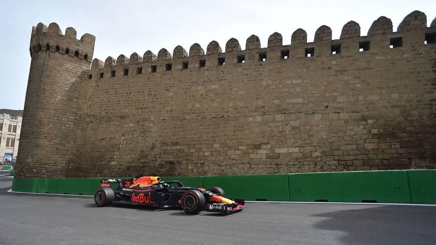 """Ricciardo primero y Alonso """"el mejor del resto"""", en los Libres 2 de Bakú"""