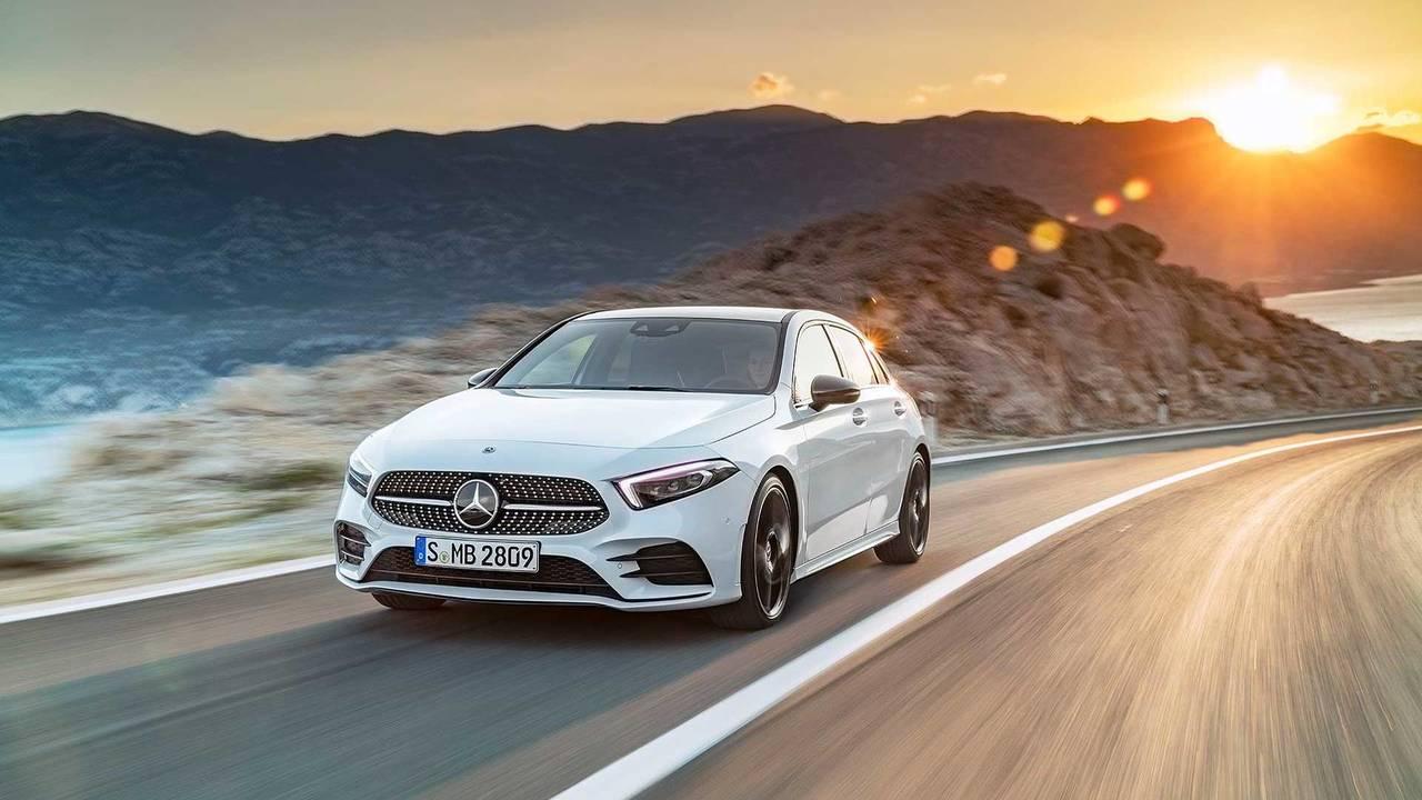 Mercedes-Benz Clase A 2018 primera prueba