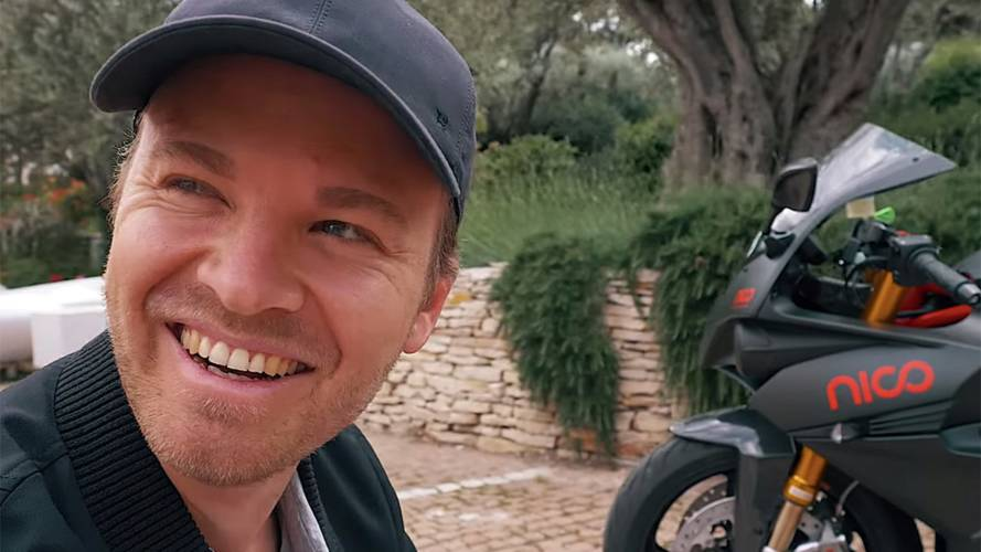 Video: Rosberg Takes Custom Energica Around Monaco
