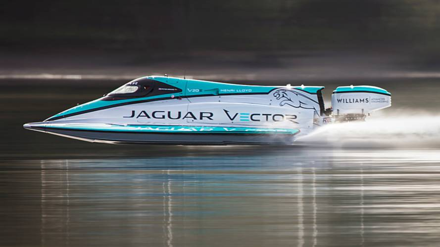 Watch Jaguar Electric Powerboat Set New World Record
