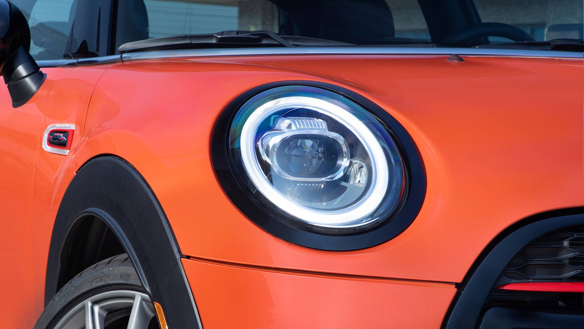 Mini Unveils Jcw Hardtop International Orange Edition