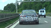 2019 Alpina B7 facelift screenshot from spy video