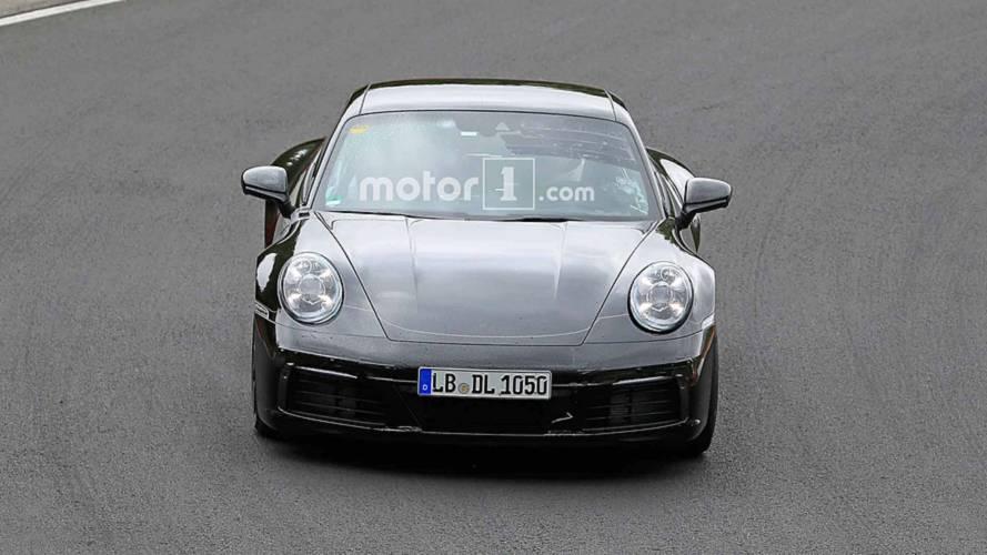 Photos espion prochaine génération de Porsche 911