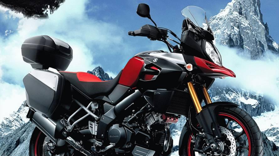 2014 Suzuki V-Strom 1000 Designer Talks Details