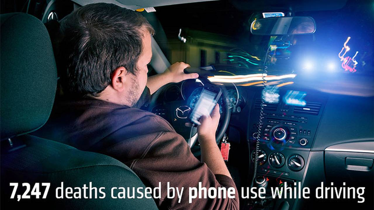 7,247 deaths caused by phone use while driving