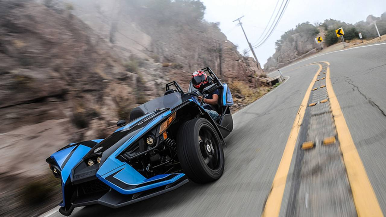 'Bike' Review - 2018 Polaris Slingshot SLR LE