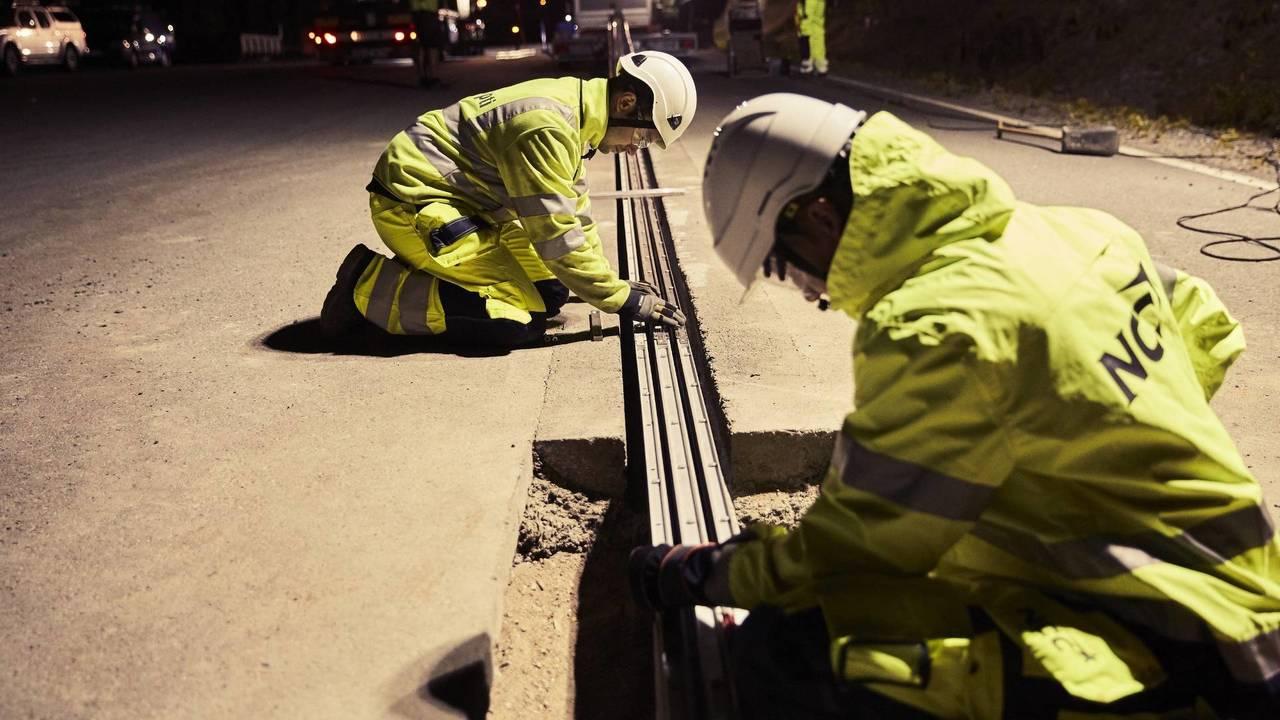 Svezia strada elettrificata