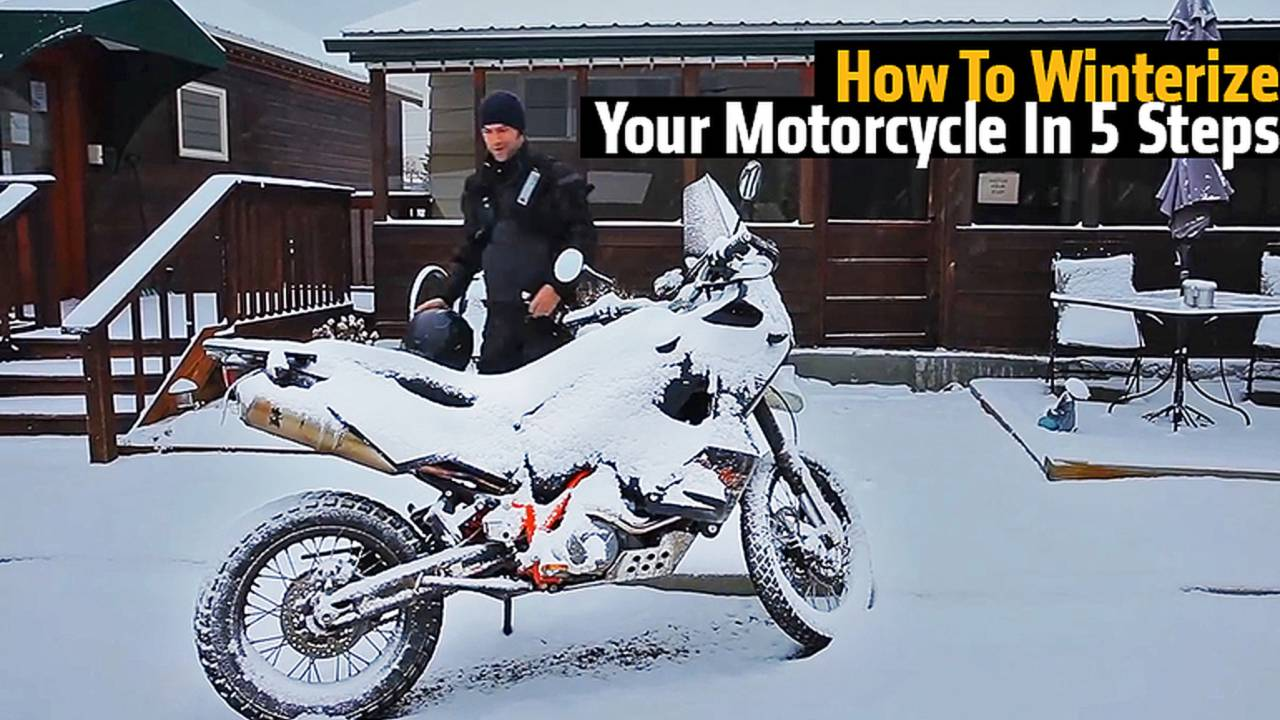 How To Winterize Your Motorcycle In 5 Steps