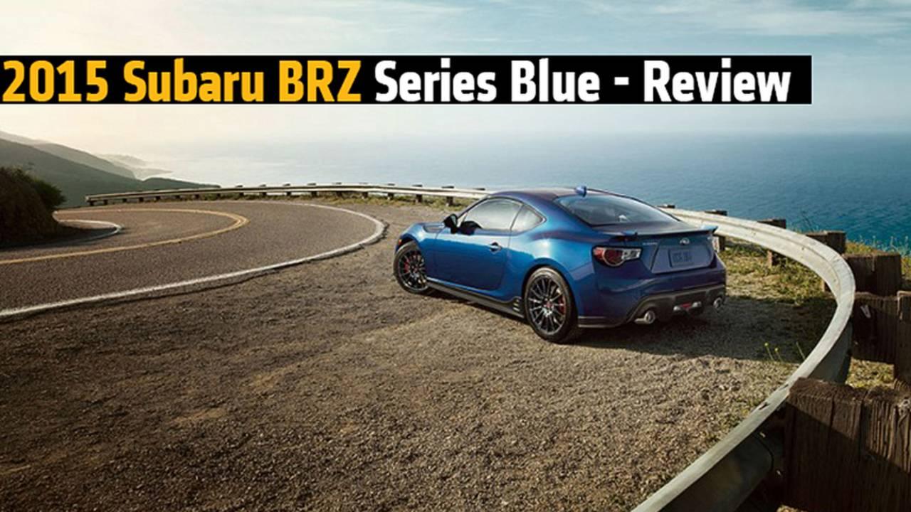 2015 Subaru BRZ Series Blue - Review