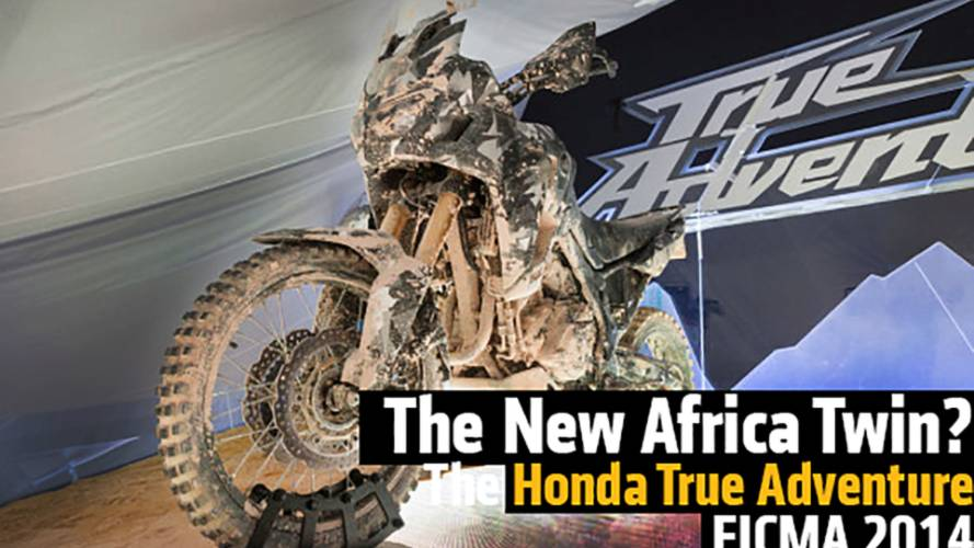 Honda True Adventure - The New Africa Twin? - EICMA 2014