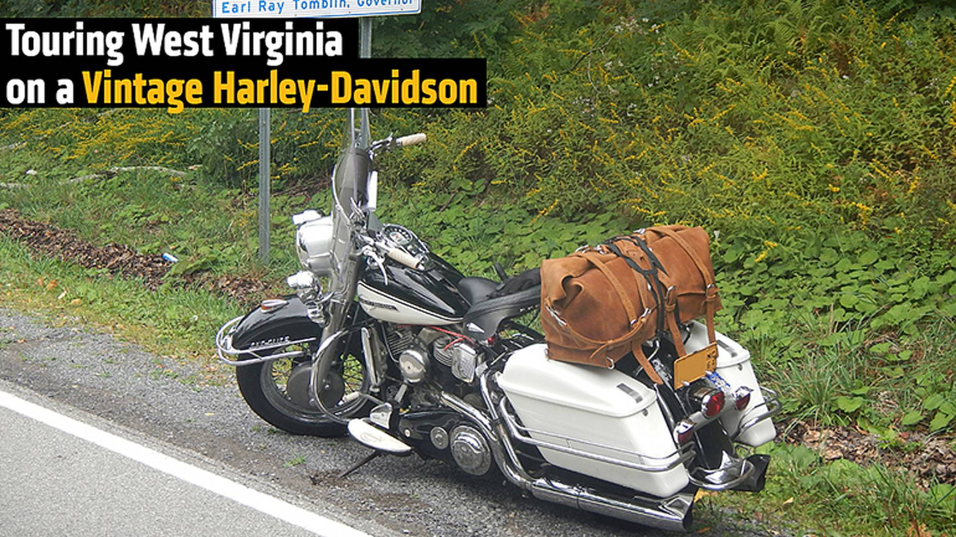 Harley Davidson Virginia >> Touring West Virginia On A Vintage Harley Davidson