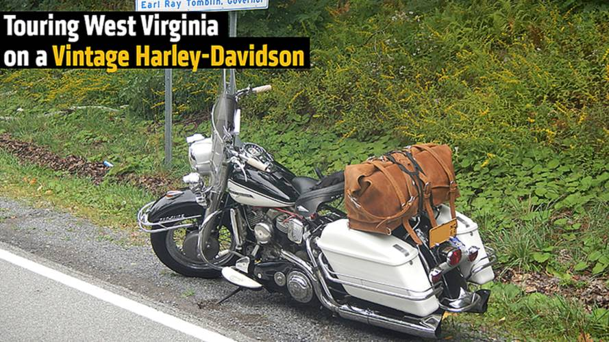 Touring West Virginia on a Vintage Harley-Davidson