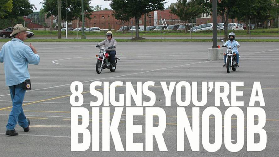 8 Signs You're a Biker N00B
