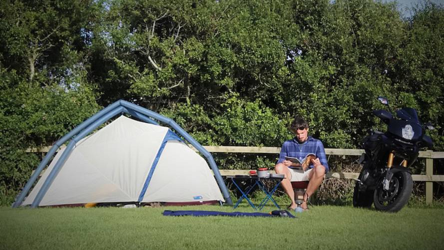 Six Gear Ideas for Great Moto Camping