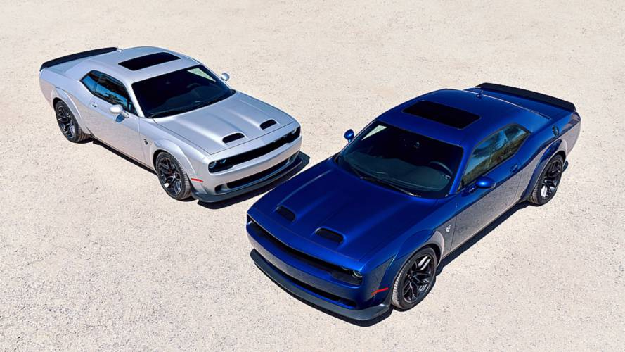 Jay Leno'nun programın bu hafta Dodge Hellcat Redeye konuk oldu