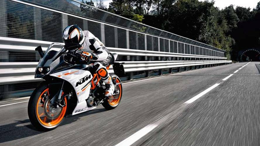 A Trio Of New KTM 390s Could Keep Company To The 1290 In Milan