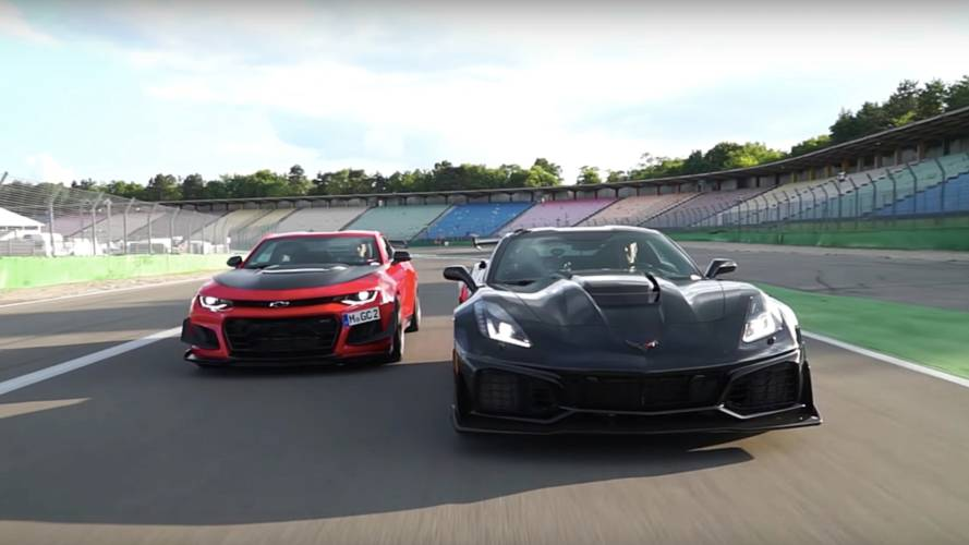 Chevy Corvette ZR1 Is 3 Seconds Quicker Than Camaro ZL1 LE