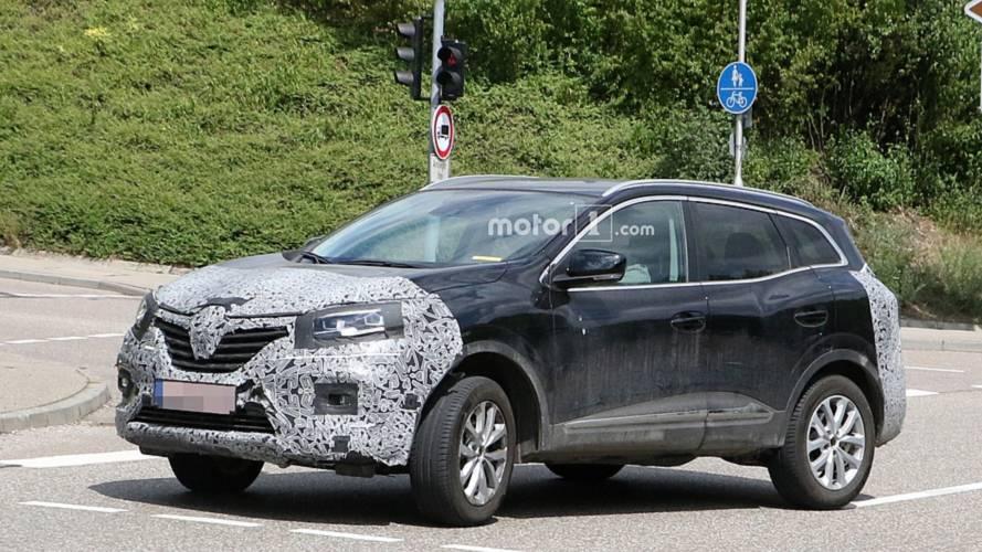 Renault Kadjar photos espion