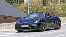 2019 Porsche 718 Boxster Spyder spy photo