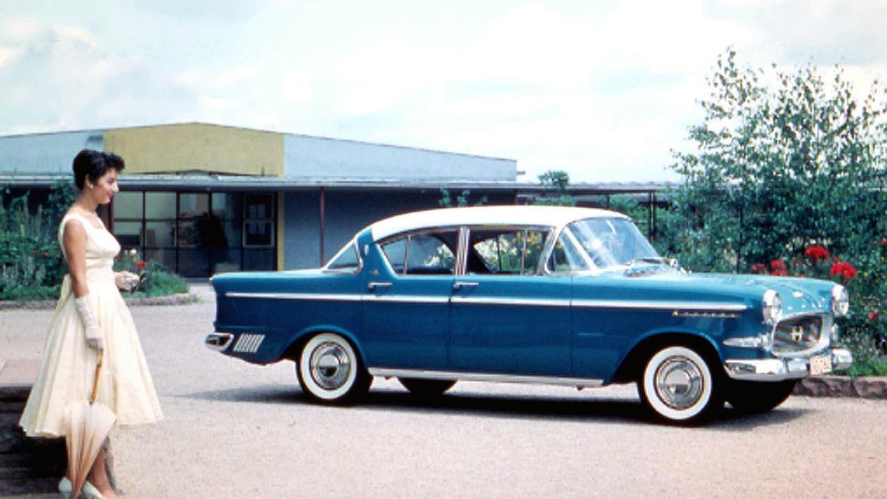 60 Jahre Opel Kapitän P1