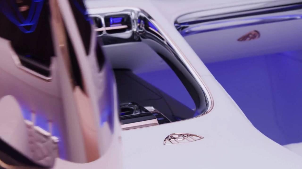 Teaser du nouveau modèle Mercedes-Maybach