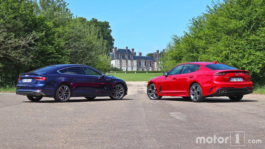 Essai comparatif - Kia Stinger GT / Audi S5 Sportback (2018)