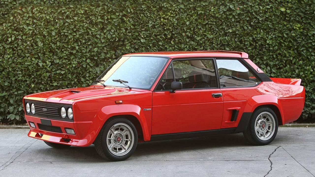 Fiat 131 Abarth Rally, fotos históricas