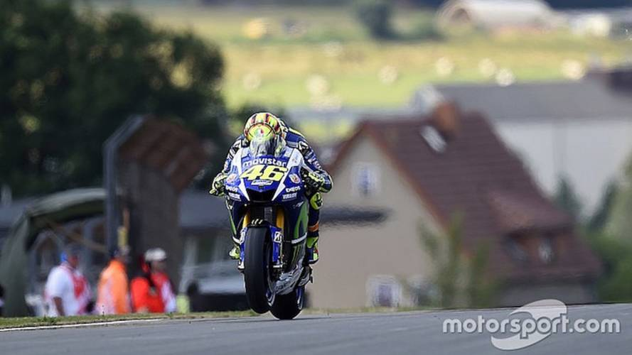 Rossi Says New Tires a 'Question Mark'