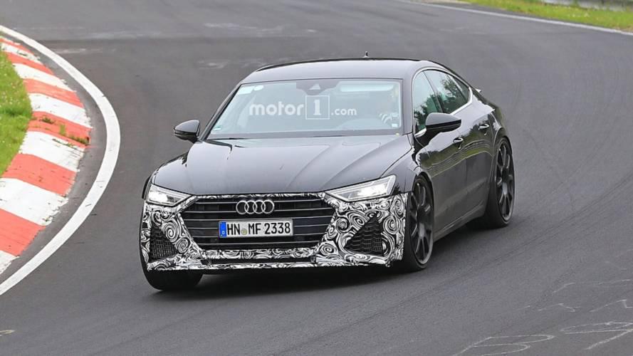 Audi RS7, Nürburgring virajlarını geçerken görüntülendi