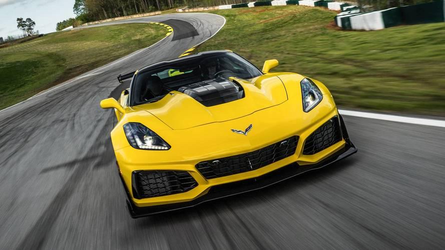 Videón, ahogy a Chevrolet Corvette ZR1 eléri a 350 km/órás tempót