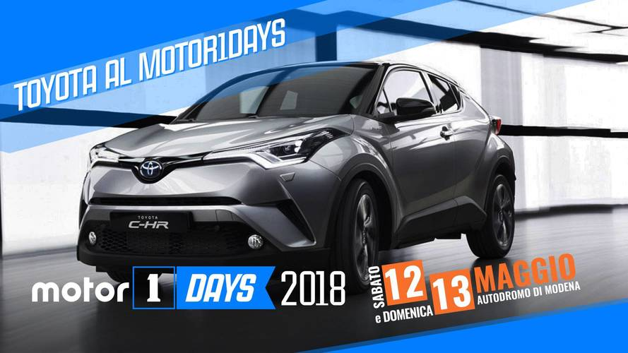 Toyota, al Motor1Days tra ibrido, hot lap e off road