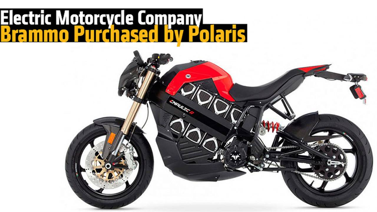 Electric Motorcycle Company Brammo Purchased by Polaris