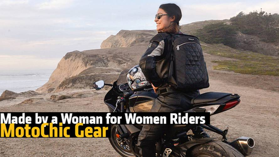 Made by a Woman for Women Riders - MotoChic Gear