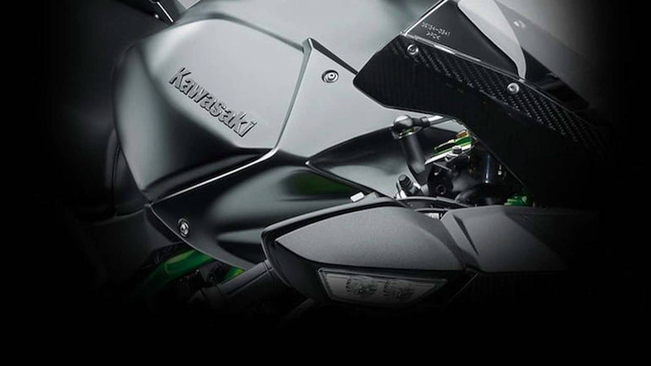 Kawasaki Teases New Supercharged Model