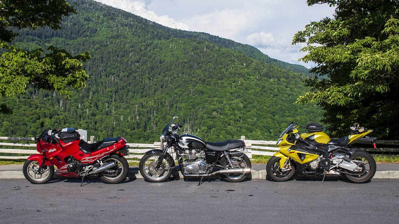 We toured these from Chicago to the Blue Ridge Parkway