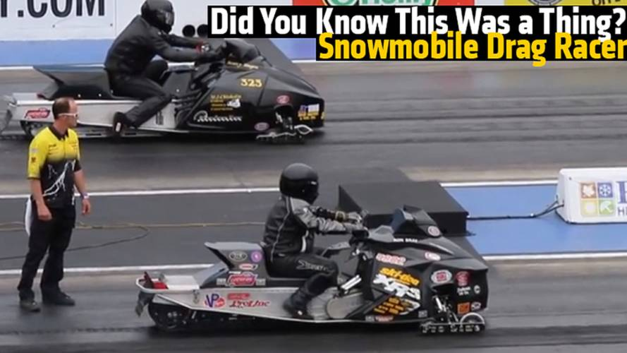 Drag Racing Snowmobiles - Did You Know This Was a Thing?