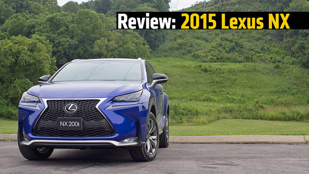 Review: 2015 Lexus NX