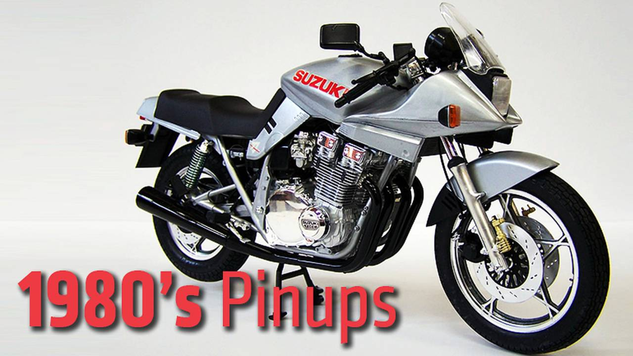 1980's Pinups - The Most Beautiful Motorcycles Of The Decade