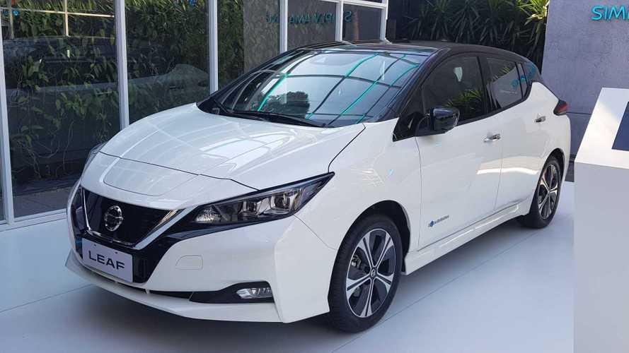 Elétrico Nissan Leaf desembarca no Brasil por R$ 195.000