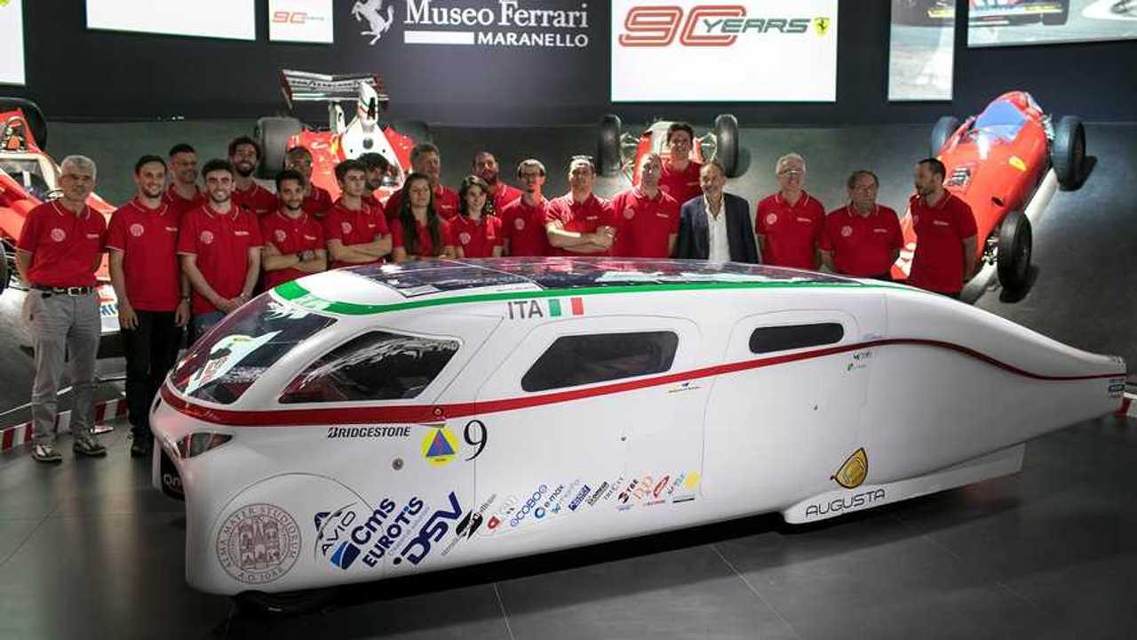 Eva 4 al Museo Ferrari