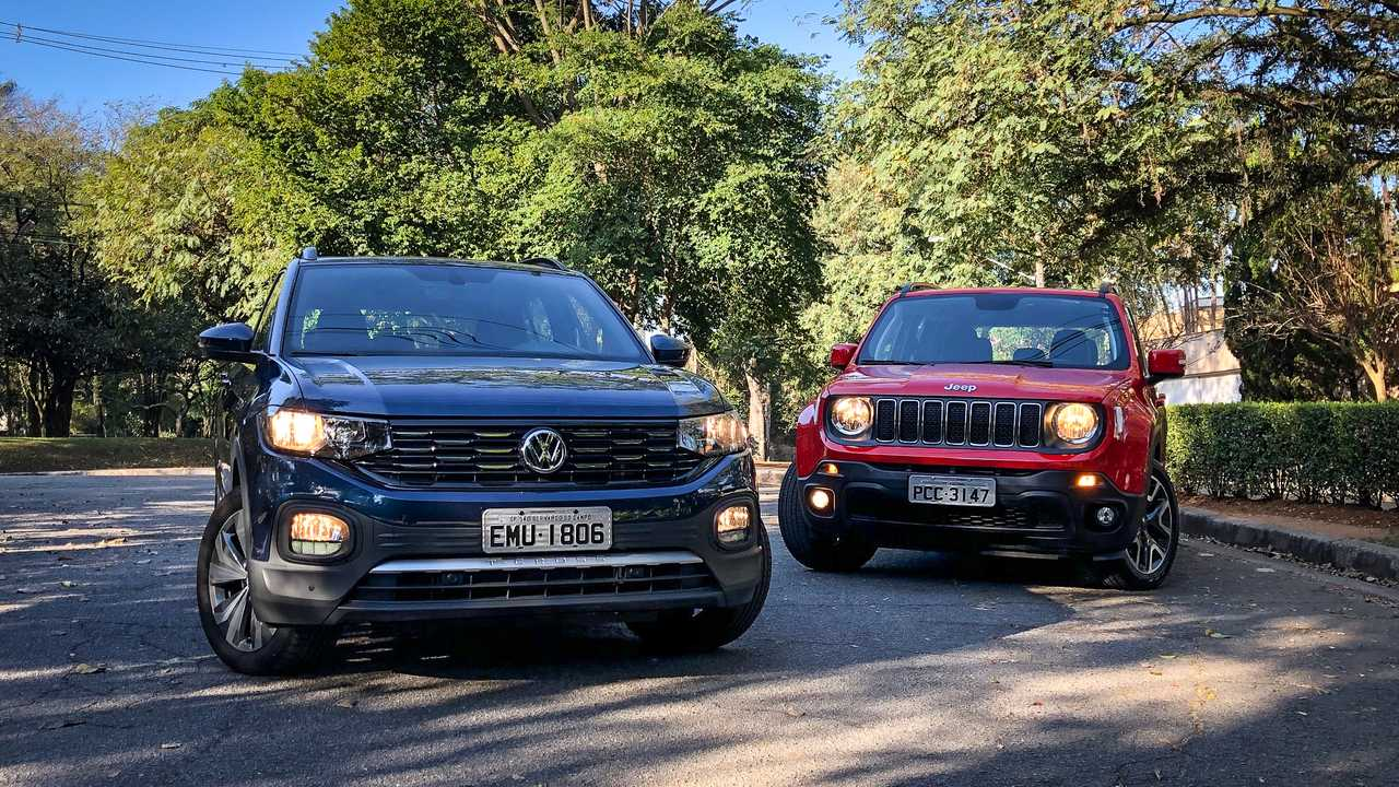 VW T-Cross x Jeep Renegade