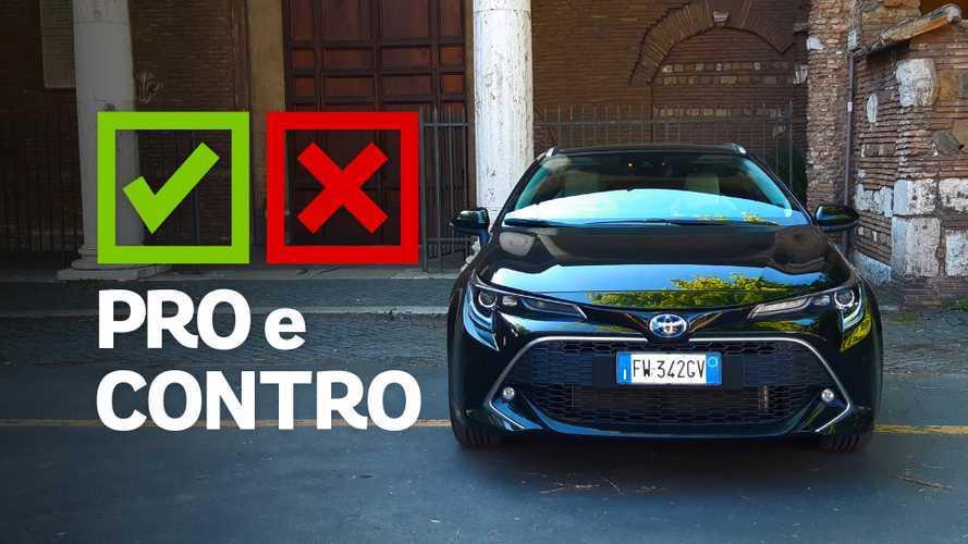 Toyota Corolla Touring Sports 2.0 Hybrid e-CVT Lounge, pro e contro