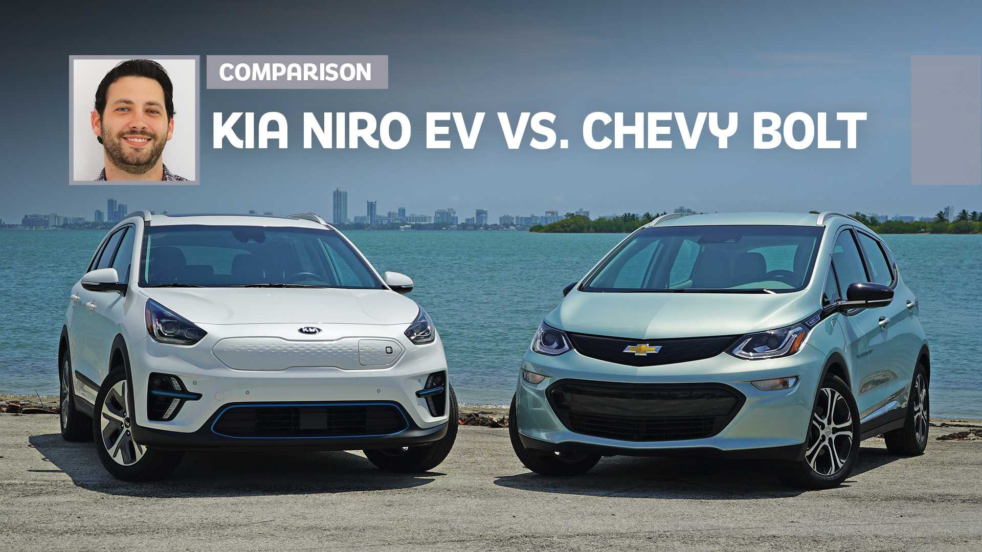 2019 Chevrolet Bolt Vs. 2019 Kia Niro EV Comparison: Electric Avenue