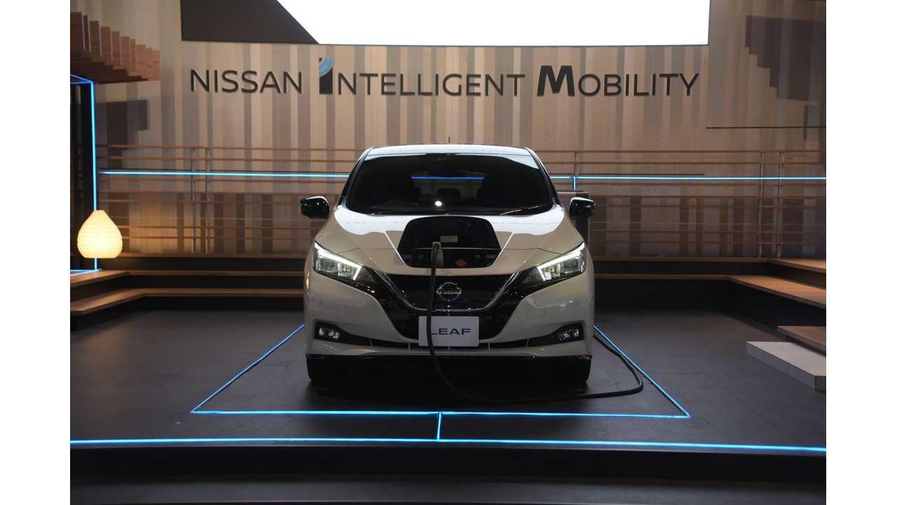 2018 Nissan LEAF Redesign Appreciated & Awarded By J.D. Power