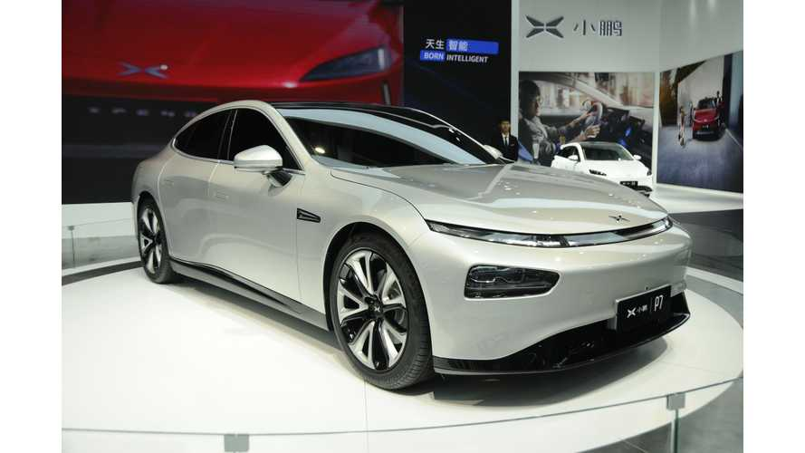 Sleek Xpeng P7 Joins The Chinese EV Scene